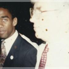 Daryl Acumen with Jack Kemp - 1994
