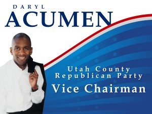 Daryl Acumen - Utah County GOP Vice Chair